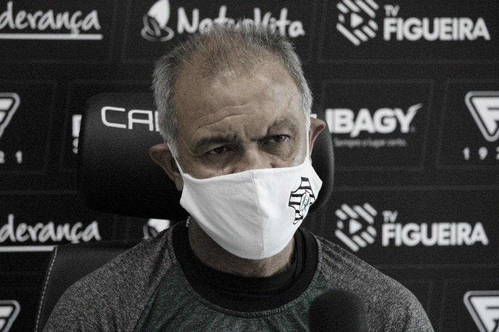 Após empate na estreia, Jorginho afirma que Figueirense tem 'totais condições' de evitar queda