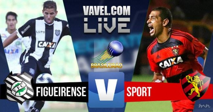 Resultado Figueirense x Sport no Campeonato Brasileiro 2016 (1-1)