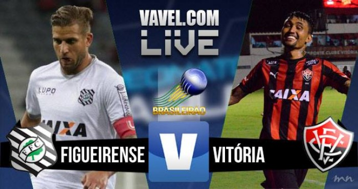 Resultado Figueirense x Vitória no Campeonato Brasileiro (1-0)