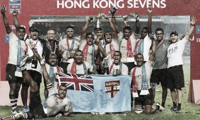 Fiji claim third title of the season, winning prestigious Hong Kong Sevens