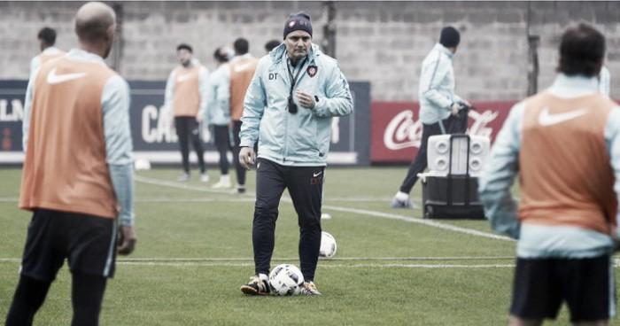 """Diego Aguirre: """"Tenemos la necesidad de ganar"""""""