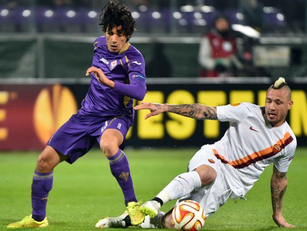 Live Roma - Fiorentina, diretta risultato partita Europa League (0-3)