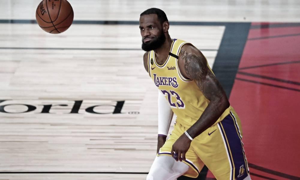 LeBron James y los Lakers ponen el 3-1. Vía: Kim Klement