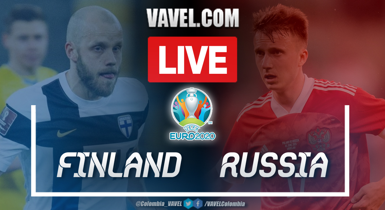 Highlights and goal: Finland 0-1 Russia in UEFA Euro 2020