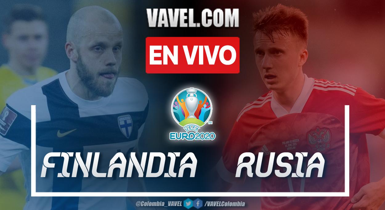 Resumen y gol: Finlandia 0-1 Rusia en UEFA Euro 2020