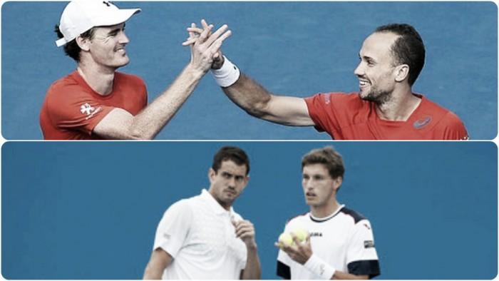 Carreño/García vs Murray/Soares en la Final del Dobles Masculino en el Us Open