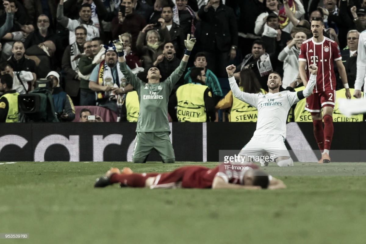 Real Madrid garante presença em Kiev