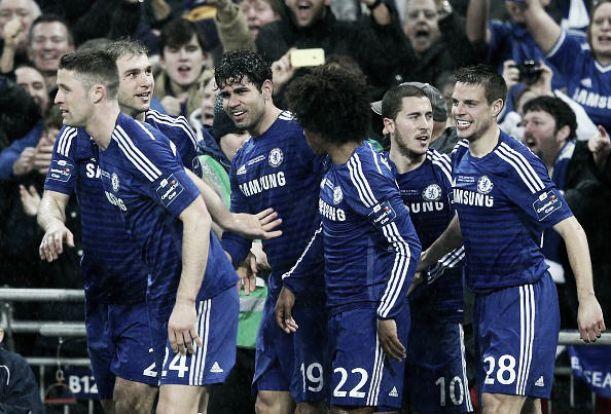 Chelsea se llena de gloria en Wembley