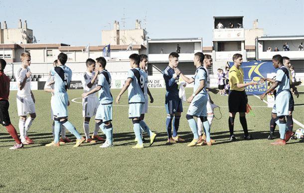 Dos errores defensivos dejan al Juvenil A sin la Copa del Rey
