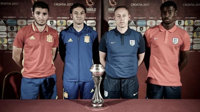 Previa España - Inglaterra sub-17: último escollo para alcanzar la 'novena'