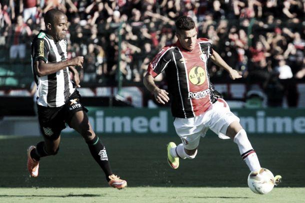 Joinville e Figueirense empatam no jogo de ida da final do Catarinense