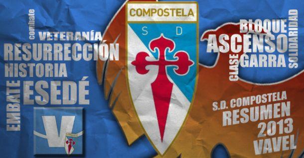SD Compostela 2013: la eterna resurrección blanquiceleste