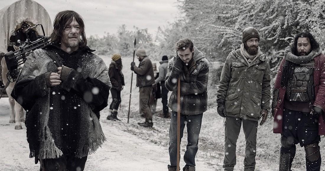El inverno también llegó a The Walking Dead al final de su noveno ciclo
