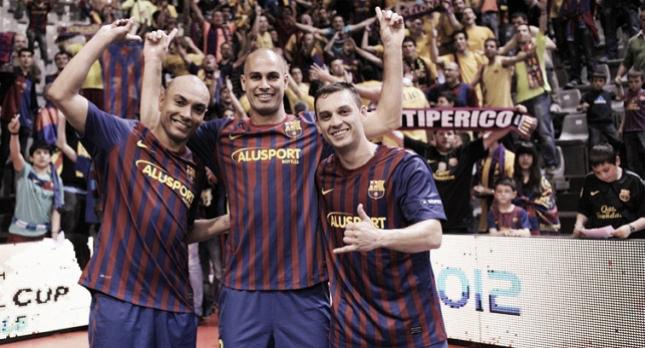 FC Barcelona Alusport - Dínamo de Moscú: cita con la historia