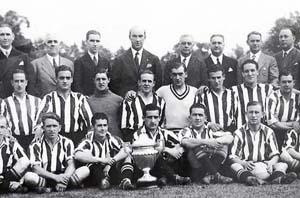 Serial Finales de Copa Barcelona - Athletic: 1932, Bata marca el gol que da al Athletic su tercera Copa consecutiva