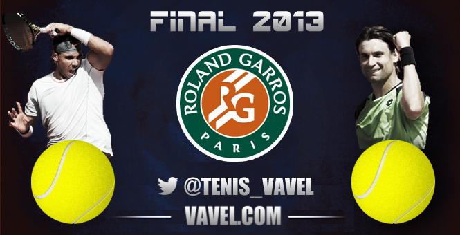 Nadal - Ferrer, finale de Roland Garros 2013, en direct  (terminé)