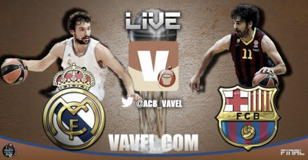Resultado Real Madrid - FC Barcelona final Copa del Rey 2014 (77-76)