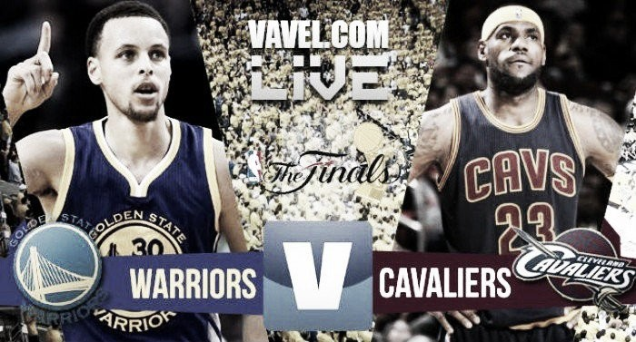 Score Cleveland Cavaliers vs Golden State Warriors in 2016 NBA Finals Game 6 (115-101)