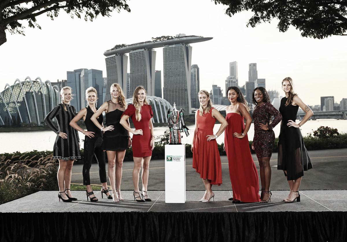 Com três ex-números um e três estreantes, grupos do WTA Finals são definidos