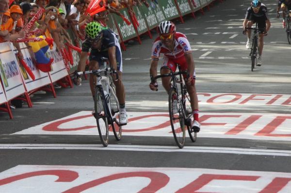 Alejandro Valverde gana en Arrate la tercera etapa de la Vuelta