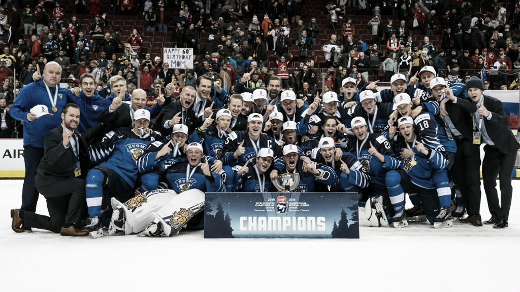 Finlandia se viste de oro al vencer a EEUU en la final del World Juniors