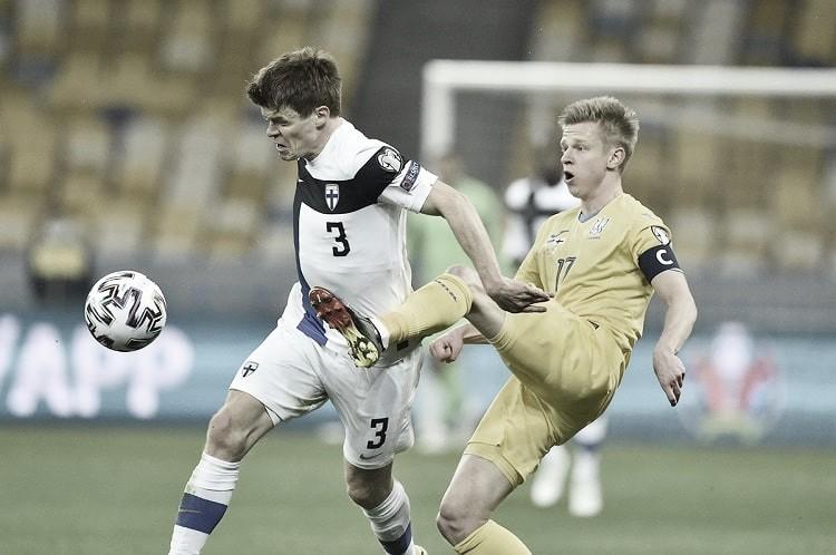 Goals and highlights Finland vs Ukraine (1-2)
