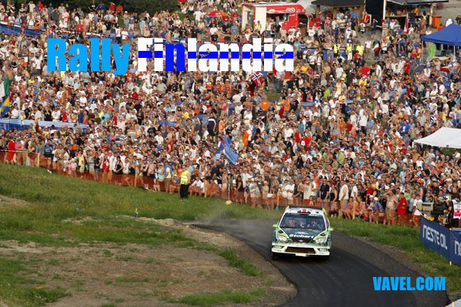 Así es el Rally de Finlandia 2012