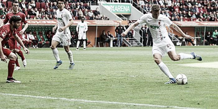 FC Augsburg 1-0 VfB Stuttgart: Finnbogason's goal gives Augsburg three vital points