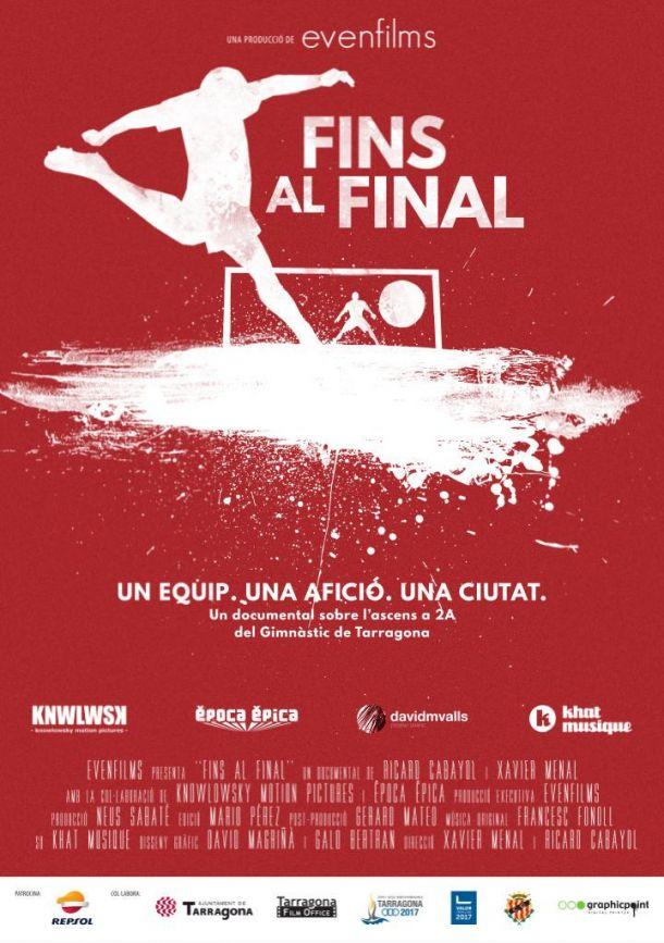 Este lunes se estrena el documental 'Fins al final', sobre el ascenso del Nàstic a Segunda