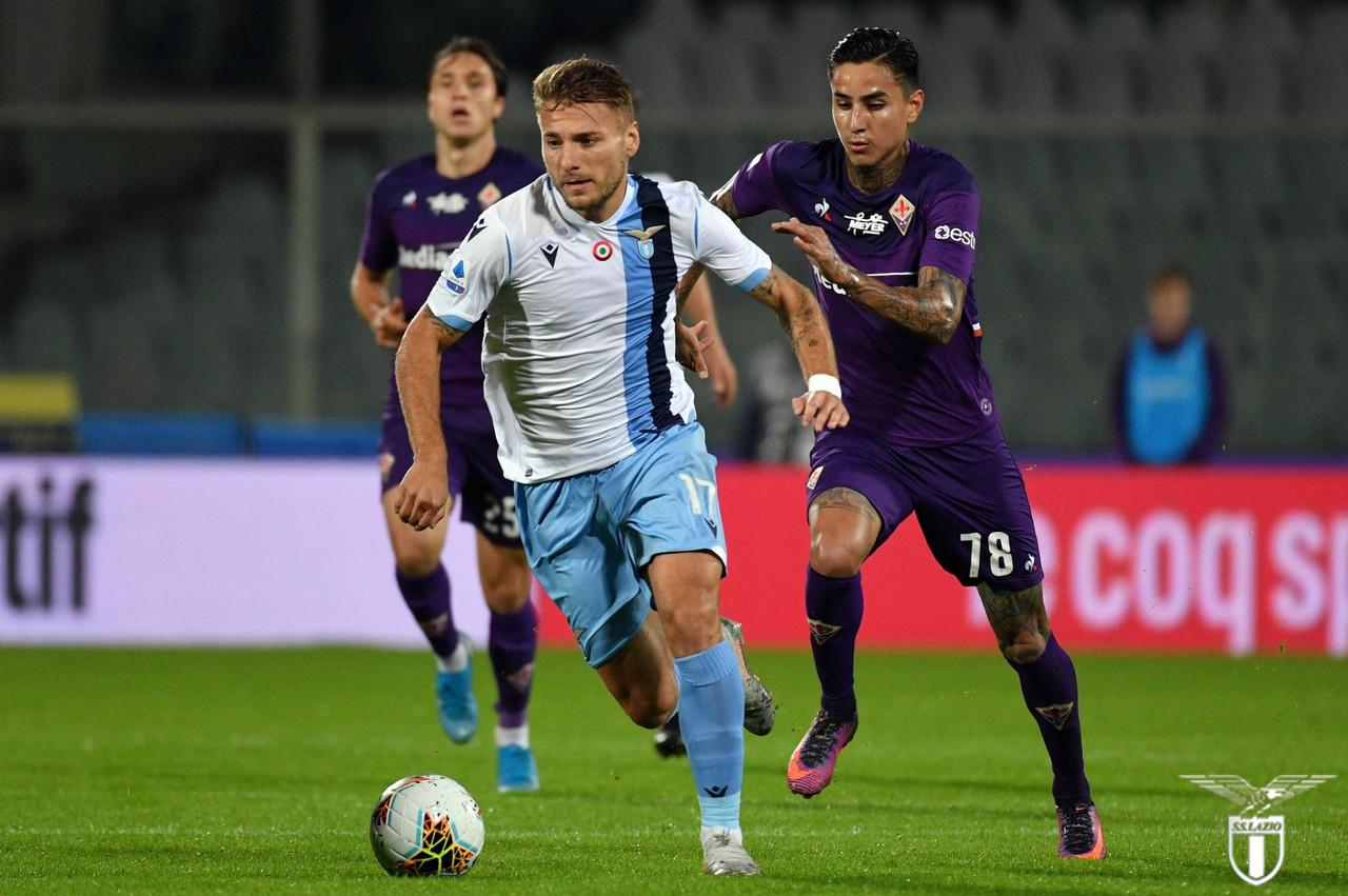 Serie A - Immobile all'89' regala i tre punti alla Lazio: Fiorentina battuta 1-2