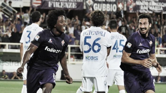 Fiorentina vence Chievo pelo placar mínimo em dia de festa por aniversário