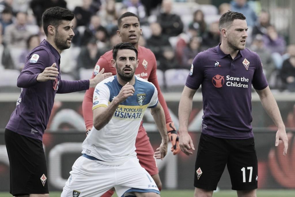 Frosinone surpreende Fiorentina e vence duas partidas seguidas pela primeira vez na história na Serie A