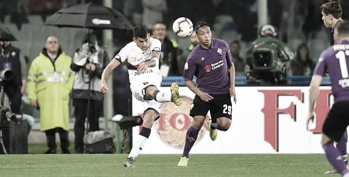 Alívio: Fiorentina e Genoa fazem o suficiente e se sustentam na Serie A