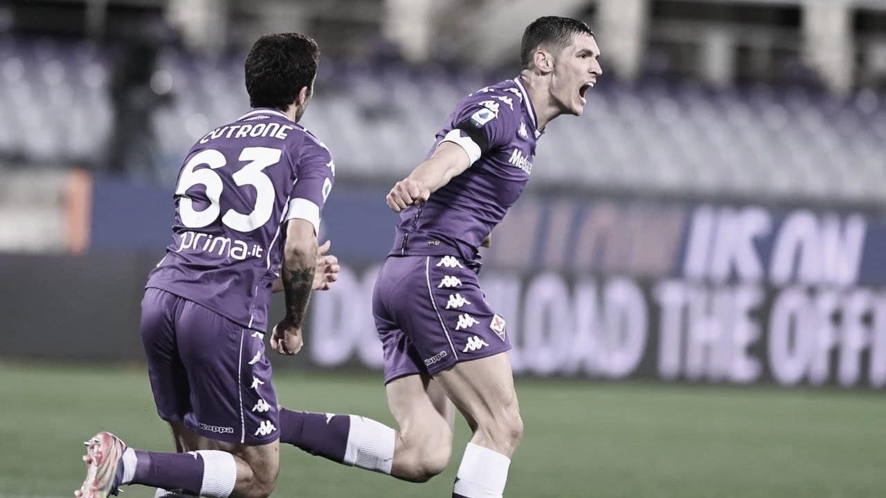 Fiorentina marca aos 53 do segundo tempo e evita derrota em casa para Genoa