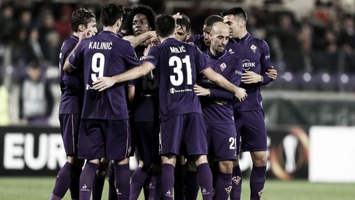 Fiorentina passa fácil pelo Slovan Liberec e fica perto da vaga ao mata-mata da UEL