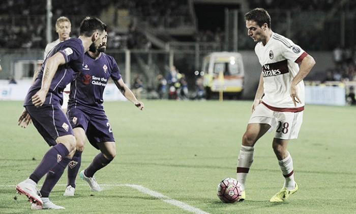 Fiorentina e Milan se enfrentam em novo reencontro de Montella com Florença