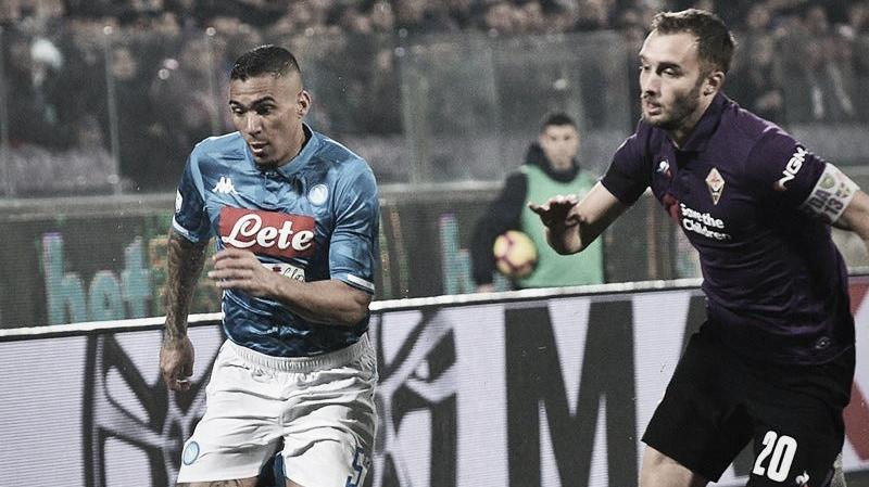 Napoli perde chances e fica no zero contra Fiorentina fora de casa