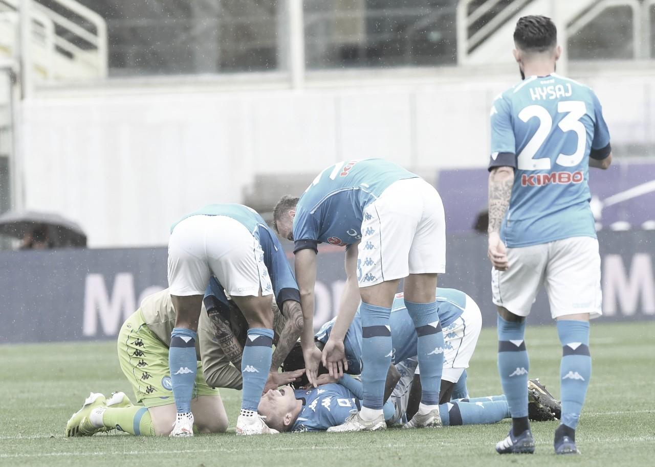 Napoli bate Fiorentina fora de casa e se aproxima de vaga à Champions League