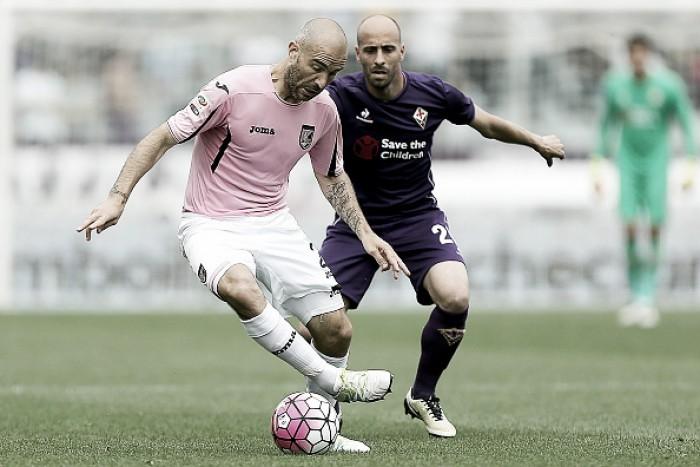Fiorentina empata sem gols com Palermo, mas garante quinta colocação da Serie A