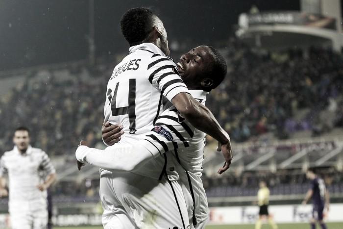Fiorentina leva gol no último minuto e perde em casa para PAOK