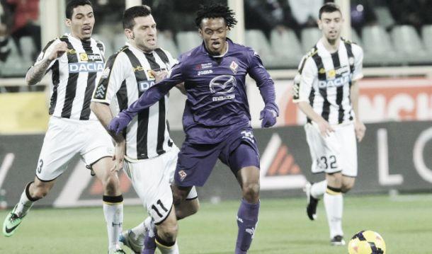 L'Udinese fa visita alla Fiorentina per continuare a stupire