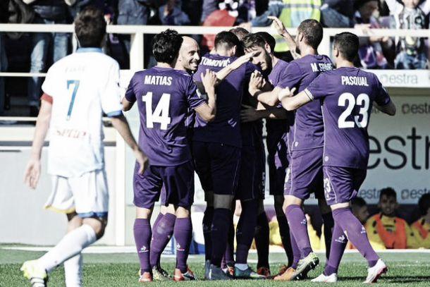 Fiorentina, passeggiata col Frosinone: 4-1 al Franchi