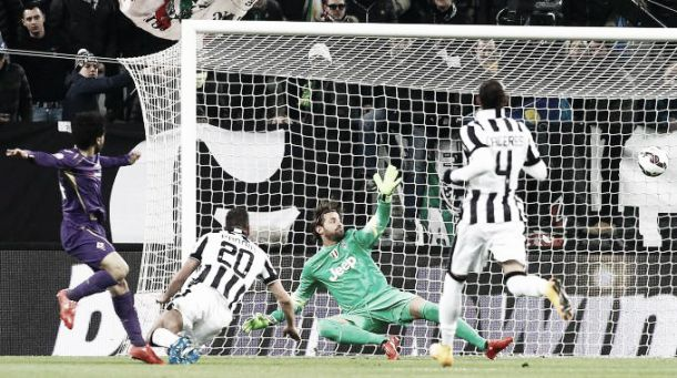Live Fiorentina - Juventus in risultato partita Coppa Italia (0-3)