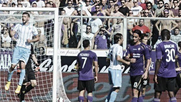 Live Lazio - Fiorentina in risultato Serie A (4-0)