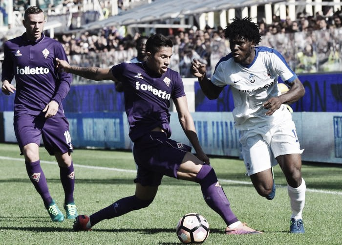 Fiorentina, poche emozioni contro l'Atalanta: 0-0 il finale