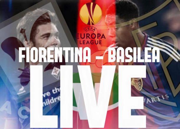 Live Fiorentina - Basilea, risultato partita Europa League 2015/16  (1-2)