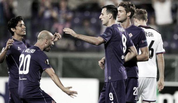 Live Belenenses - Fiorentina, risultato Europa League 2015/2016  (0-4): la chiude Rossi