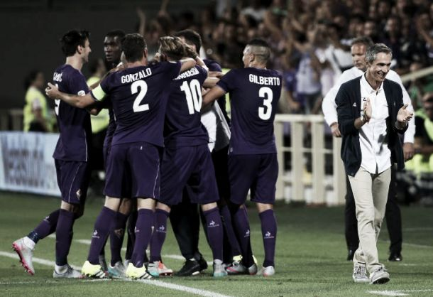 Risultato Fiorentina - Lech Poznan, Europa League 2015/2016 (1-2): Kowniacki, Gajos, Rossi