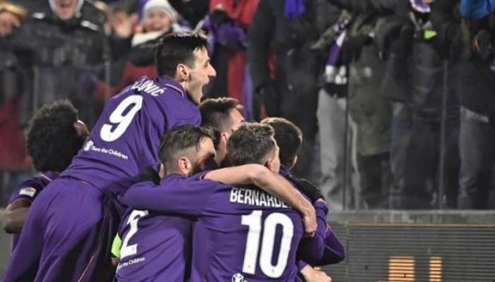 Serie A - Colpo Fiorentina. Juve battuta al Franchi 2-1, superbo Kalinic.