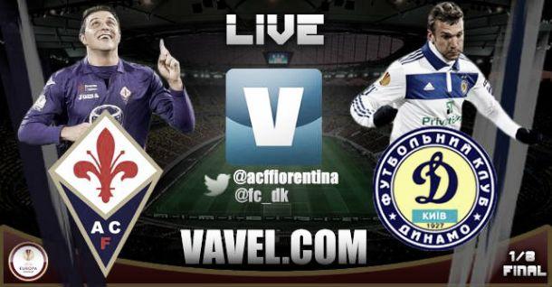 Risultato Fiorentina - Dynamo Kiev di Europa League (2-0)